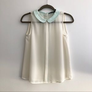 Zara Sleeveless Blouse